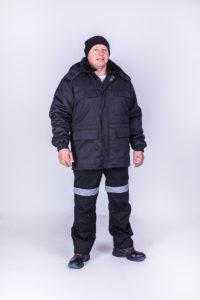 Куртка охранника утепленная